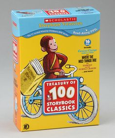 Take a look at this 100 Storybook Classics DVD Set #1 by Scholastic Storybook Treasures on #zulily today!