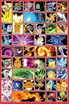 pokemon wandbild
