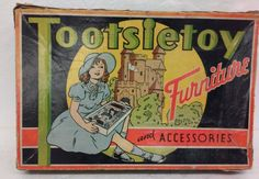Vintage Tootsietoy Furniture and Accessories Doll House Furniture #Tootsietoy