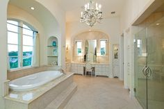 Iron Bluff - traditional - bathroom - austin - Fine Focus Photography