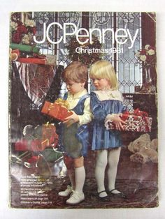 JCPenney Christmas Catalog Wish Book Cover1981