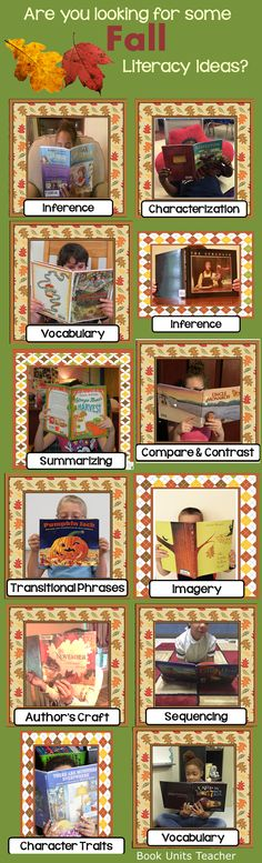 Download 12 free lessons or activities to go with your fall themed books. Each resource was created by a different 3rd through 6th grade reading specialist. What a fantastic find!