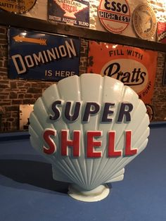 Super Shell Petrol Pump Globe