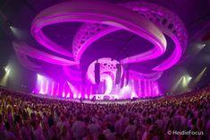 EDM stage design - sensation into the wild