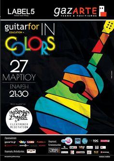 Guitarfor In Colors featuring - the Burger Project - Elektronik Meditation - Lia Hide - Irene Ketikidi