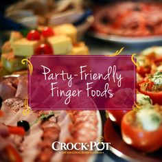 Throwing a graduation party? Here are some tips for making the best finger foods and bite size snacks. #CrockPot