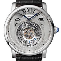 Cartier Rotonde Astrocalendaire Perpetual Calendar. | HauteTime