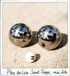 Chanel petanque - Saint Tropez Stone & Living - Immobilier de prestige - Résidentiel & Investissement // Stone & Living - Prestige estate agency - Residential & Investment www.stoneandliving.com