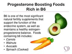 Progesterone Boosting Foods Rich in B6 B6 is one of the most significant natural…