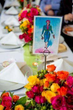 Traditional MEX Wedding table list