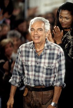 16 Times Ralph Lauren Was His Own Best Advertisement