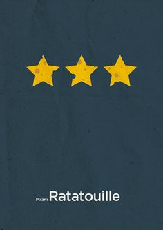 Ratatouille Minimalis Poster