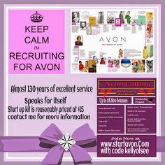 Make Up & The Tomboy: Recruiting Avon Representatives