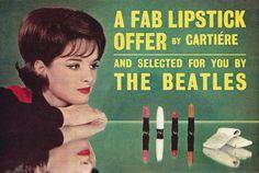 1964 Cartiére ad; the Beatles
