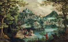 Гиллис ван Конинкслоо (Gillis van Coninxloo), 1544-1607. Фландрия. Обсуждение на LiveInternet - Российский Сервис Онлайн-Дневников