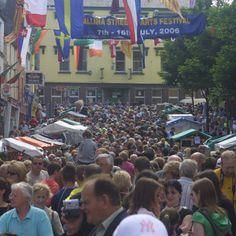 Ballina Street Festival. Co Mayo. Ireland