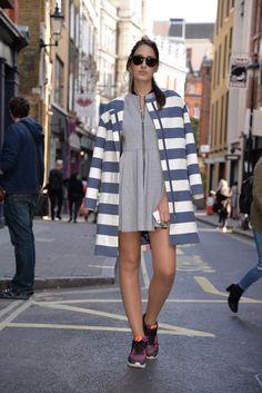 DAY 2 of #LFW !! #streetstyle #thegoaldiggers #fashion