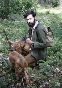 hunting with a beard