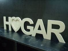 Cartel Hogar con corazon para portaretrato!!