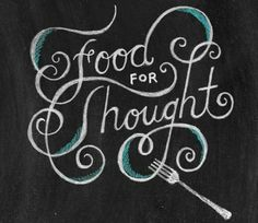Food for Thought - A daily (or weekly) encouragement email sent to all SoRo residents. It will have a scripture and some form of encouragement, as the Spirit leads.