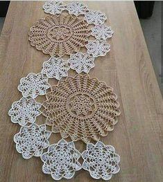 Crochet Geek, Diy Crafts Crochet, Crochet Home Decor, Free Crochet Doily Patterns, Crochet Motif, Crochet Designs, Crochet Stitches, Lace Doilies, Crochet Doilies