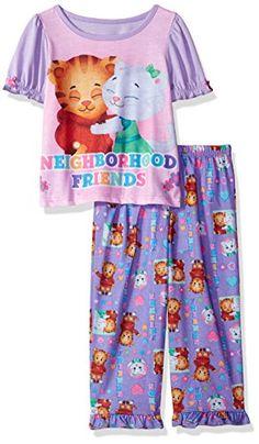 Daniel Tiger Toddler Girls' 2pc Sleepwear Set #DanielTiger #CharacterSleepwear #PajamaOutfit #SleepwearSet #YankeeToyBox