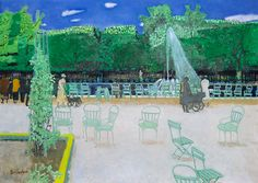 Maurice Brianchon, Les Tuileries