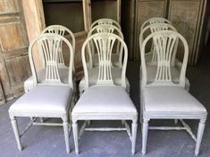 Gustavian bútorok, svéd antik bútor Vintage Designs, Dining Chairs, Shabby Chic, Furniture, Home Decor, Decoration Home, Room Decor, Dining Chair, Home Furnishings