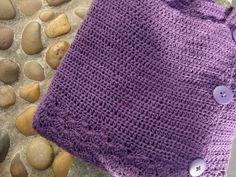 crochet crop cardigan - free pattern