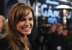 Okay, so it's Angelina Jolie. But I love these bangs.