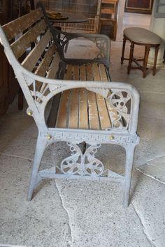 Antique Garden Bench