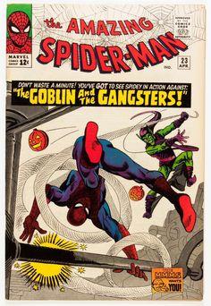 The Amazing Spider-Man #23 - art by Spider-man creator Steve Ditko (Marvel, 1965)