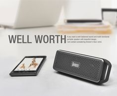 Divoom,iTour-omni, SD card speaker.
