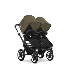 Donkey 2 Twin - Black Base Fabric - Black Chassis - Olive Green