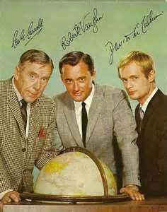 The Man from U.N.C.L.E. is an American television series that was broadcast on NBC from September 22, 1964, to January 15, 1968. It follows the exploits of two secret agents, played by Robert Vaughn (Napoleon Solo), David McCallum (Illya Kuryakin) and Leo G. Carroll (Alexander Waverly) as the British head of a fictitious secret international espionage and law-enforcement agency called U.N.C.L.E.