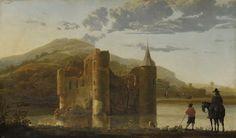 Aelbert Cuyp - Ubbergen Castle