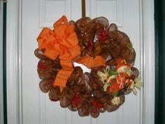 Mesh Wreath -- Fall 1 $40