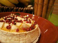 O Tempero da Nesita: Camembert no Forno com Mel e Pimenta Rosa