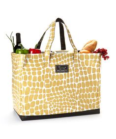 Khaki 15'' Tote: Another great store and go, especially for those who like to only take ONE trip carrying groceries from the car.
