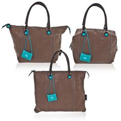 Gabs Handbags Borsa Donna A Mano Mod G3 Tg M In Pelle
