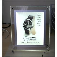 495.00$  Buy now - http://alieew.worldwells.pw/go.php?t=1273277475 - Super slim crystal lightbox for advertising/photo frames