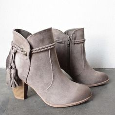 close to my heart western inspired booties