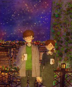 Love ... Tea ... Starry Night