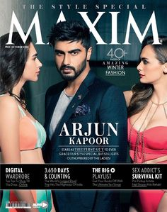 Super Stylish #ArjunKapoor rocking the cover #MaximIndia October Issue... #Fashion #IndiasMostStylish ..... Buy Your Copy Now