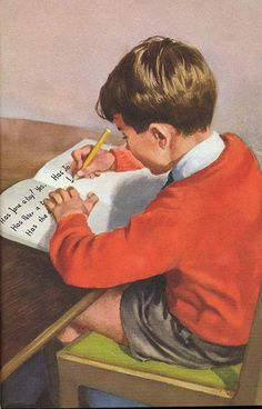 An image from 1c - Read and Write - The Ladybird Key Words Reading Scheme (The Peter and Jane Books). Published in 1965.