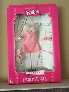 Barbie-Moda-Avenue-Lenceria-1998-en-caja-original-20641