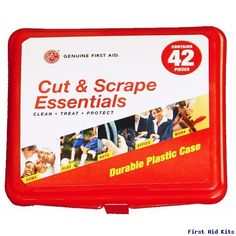 Genuine First Aid Kit 42 Red
