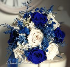 Star Wedding, Wedding Prep, Fall Wedding, Dream Wedding, Retirement Party Decorations, Wedding Decorations, Blue Wedding Flowers, Wedding Bouquets, Blue Rose Bouquet