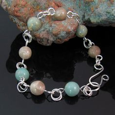 Michigan and African stones combined with. sterling silver by rwilberg, $29.00