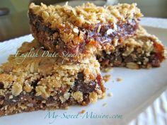 English Date Squares